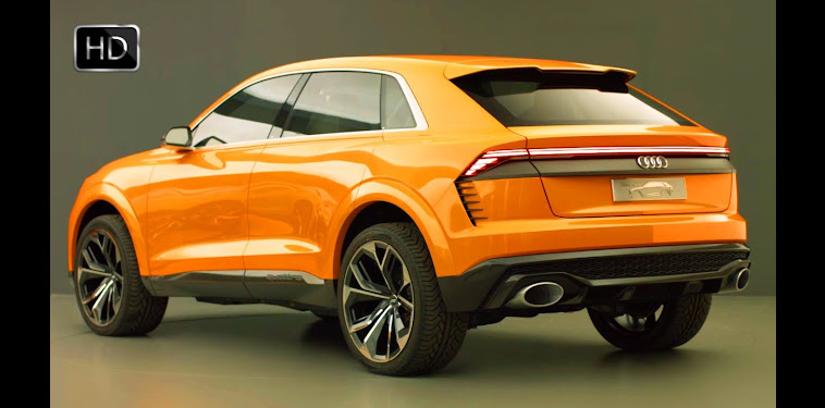 Audi Suv Orange Interior