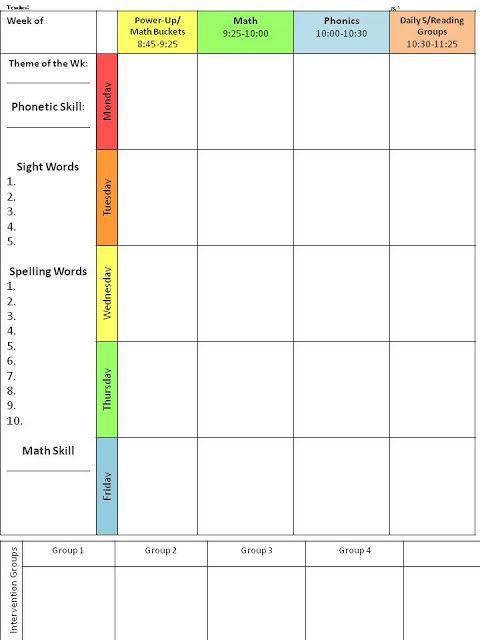 1000+ ideas about Daily Schedule Template on Pinterest | Lista de ...
