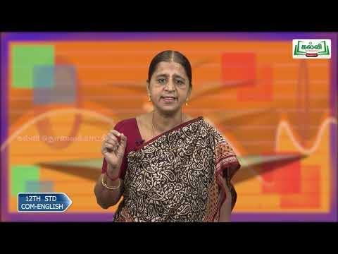 12th Communicative English Simple, Compound and Complex sentence Q  A Kalvi TV