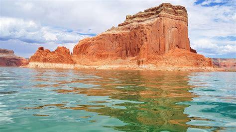 red canyon arizona utah lakes rivers turquoise wallpaper