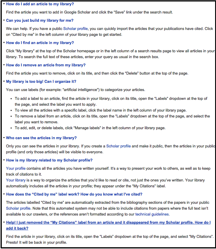 Google Scholar Library Tips