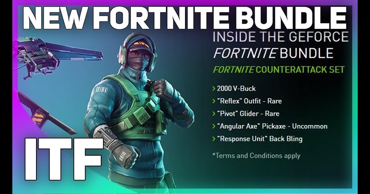 Fortnite Bundle 2000 V Bucks Counterattack Set | Fortnite