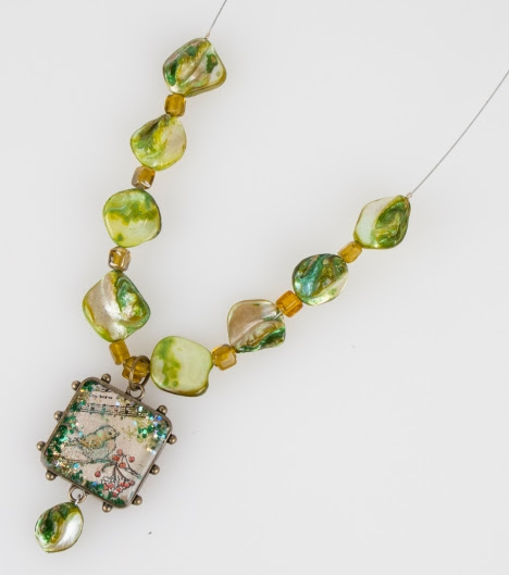 Christmas Charms Necklace by Kristine Reynolds