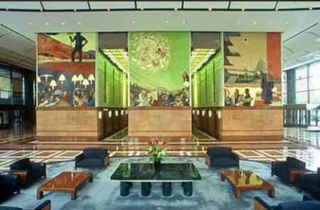frescos e1290462367636 Imagens e Símbolos  ocultos em afrescos da América