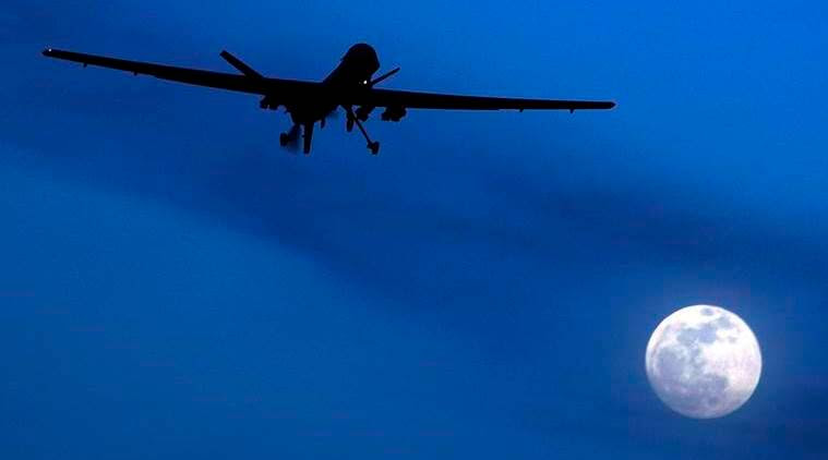 About four militants of the Yemen-based Al Qaeda branch were killed when a US drone strike hit their hideout in the central province of al-Bayda on Wednesday.