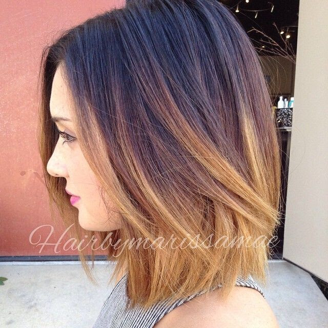 Ombre Bob Hairstyles Popular Haircuts