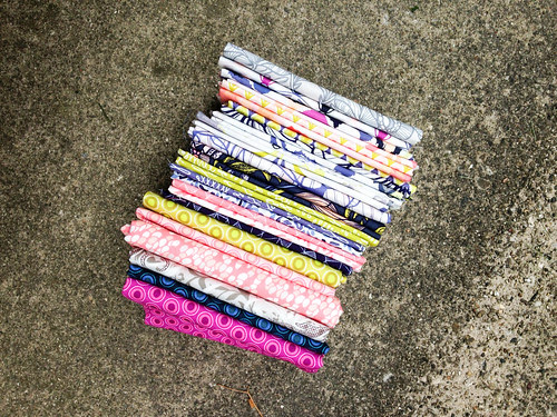 Fabric Stack by Jeni Baker