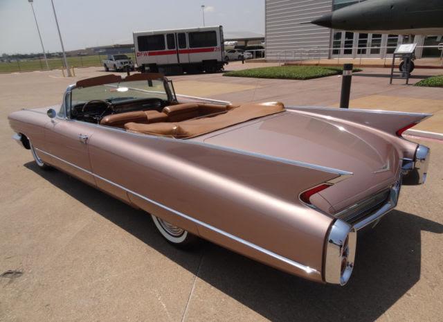 1960 Cadillac Convertible Series 62 6267 no Eldorado ...