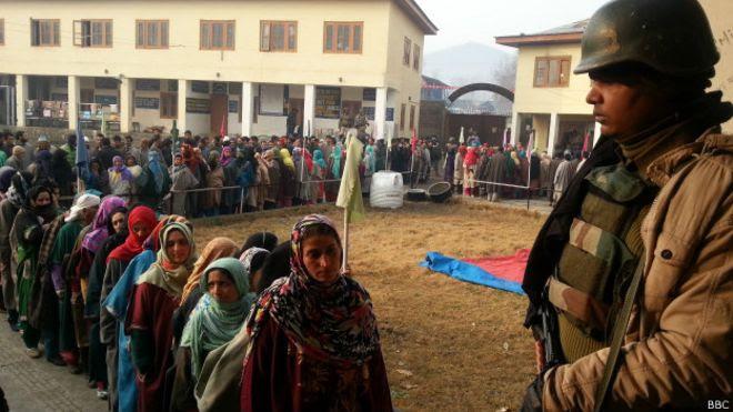 चुनाव, कश्मीर
