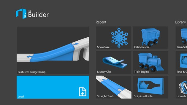 Microsoft releases its simple 3D printing app for Windows 81