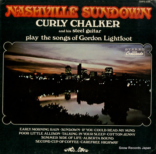 CHALKER, CURLY nashville sundown