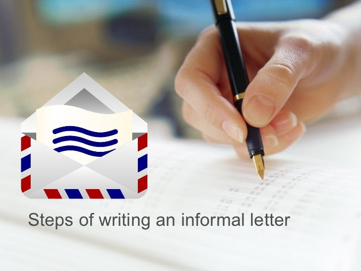 steps of writing an essay letter