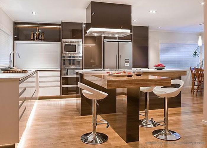 Penggunaan Desain Interior Ruang Makan Minimalis Yang Sederhana