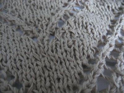 mystery knit closeup