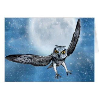 owl fantasy card card