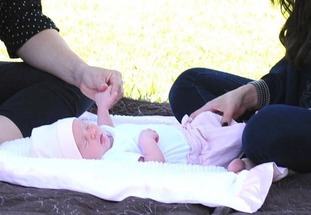 Gracie Elliot, irmãzinha de Selena Gomez (Foto: Grosby Group)