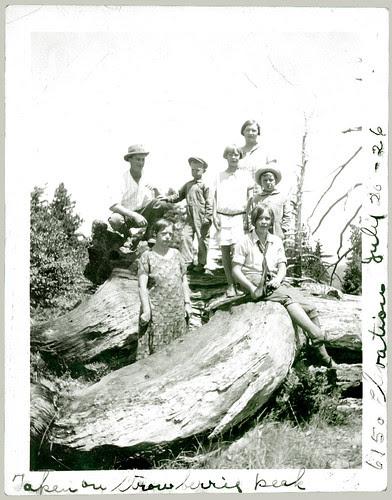 Family at Strawberry Peak