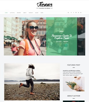 Vienna Blogger Templates