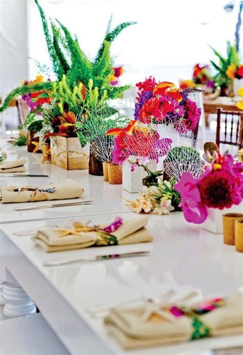 15 Unique Ways to Plan a Tropical Themed Wedding   Brit   Co