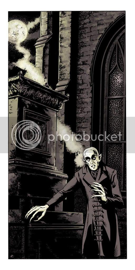 Ilustration,Nosferatu,Graeme Neil Reid