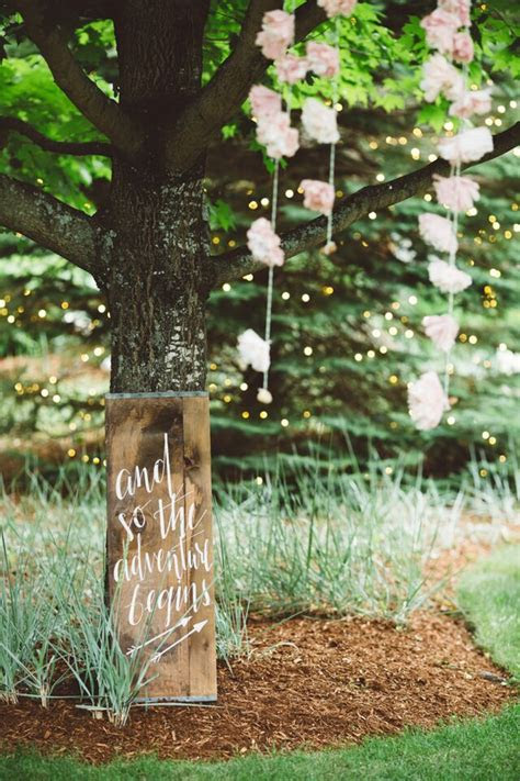 elegant rustic backyard wedding rustic wedding chic