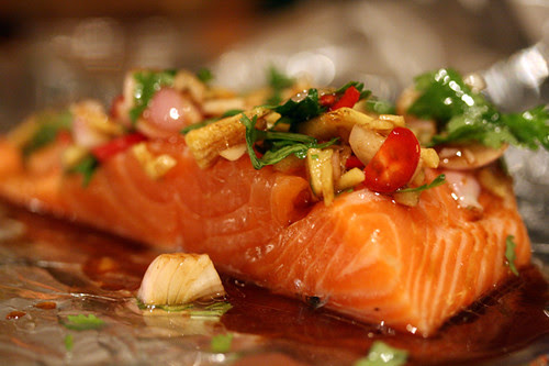 Salmon for the dishwasher