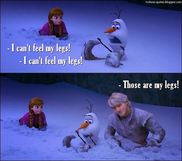 Funny Quotes From Disneys Frozen. QuotesGram