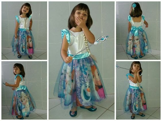 Vestidos Infantil Estilo Princesa: Inspire-se nos modelos de Conto de Fadas!