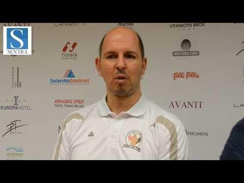 Ο προπονητής της Καστοριάς Γ. Σούλιος μιλά για την μεγάλη νίκη της ομάδας την Κυριακή, τον κόσμο και το νέο γήπεδο