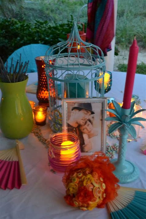 Colorful Beach Weddings in St. Augustine, FL