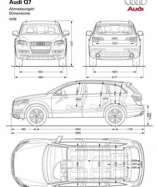 Decoratingspecial Com: Audi Q7 Interior Dimensions