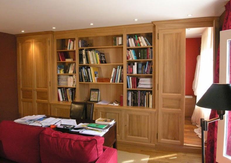 librerie su misura in rovere
