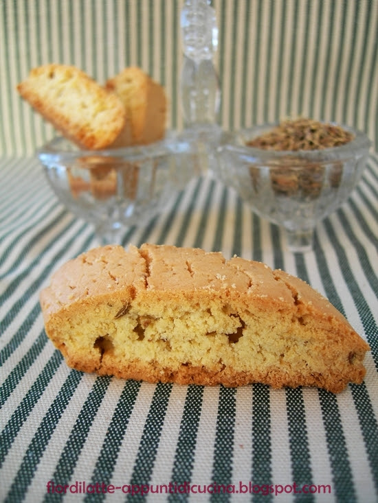 Finti cantucci all'anice - Anise cantucci