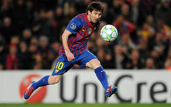 UEFA Champions League: FC Barcelona- Bayer Leverkusen: Lionel Messi
