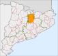 Localització del Berguedà a Catalunya