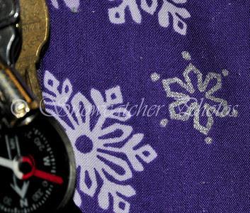 Purple Mountain Snowflake Inspiration