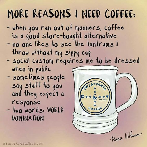 Make Me Laugh Wednesday: Coffee Humor - Chris Cannon
