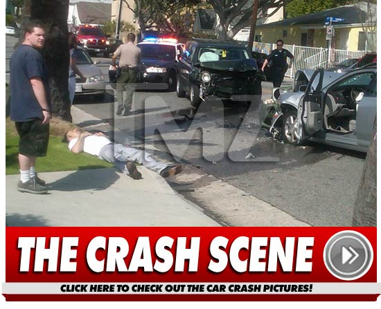 David Arquette Crash Pics