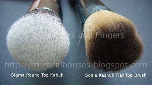 Sigma Round Top Kabuki vs Sk Flat Top