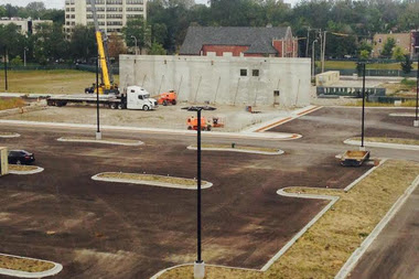 Englewood Whole Foods Walls Are Going Up