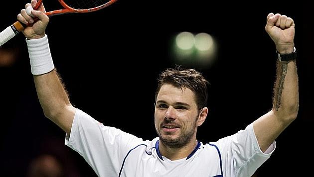 Wawrinka gana su noveno título en Rotterdam