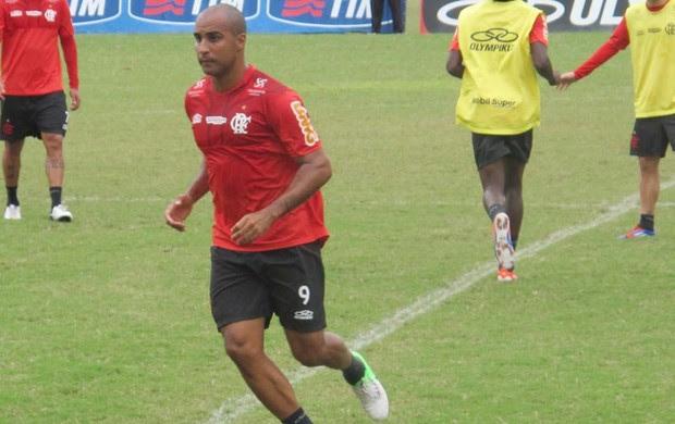 Deivid treino Flamengo (Foto: Richard de Souza / globoesporte.com)