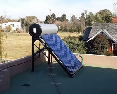 Termotanque solar, una alternativa para ahorrar gas o electricidad.