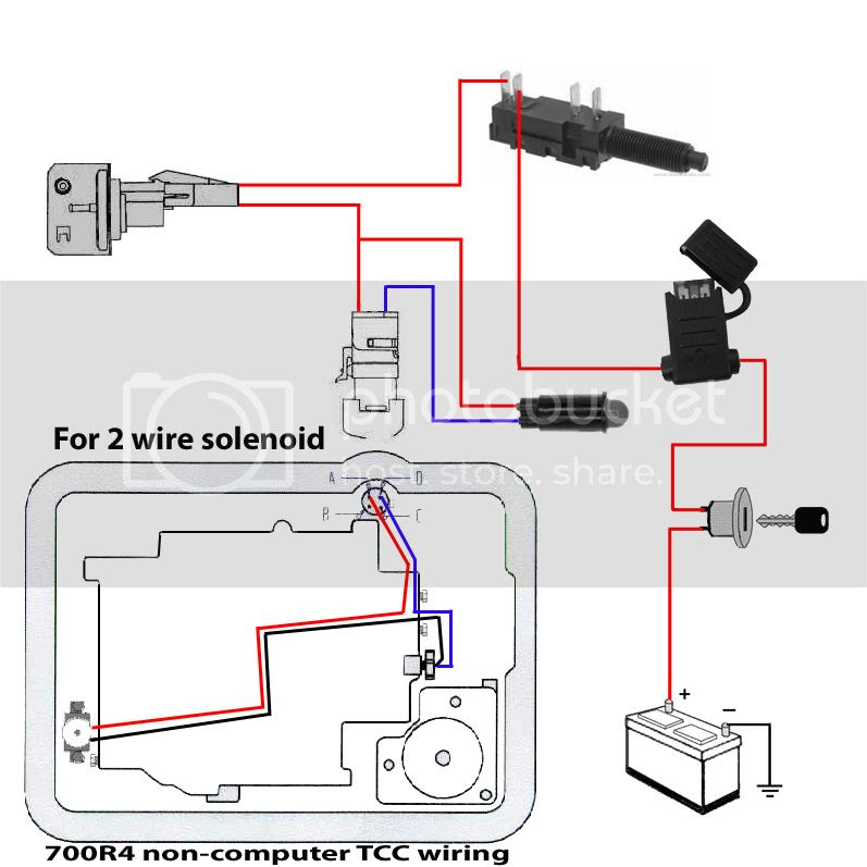 Autosportswiring  700r4 Transmission Wiring Diagram Switch Image Details
