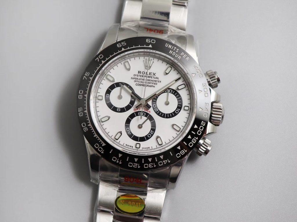 Noob Rolex Daytona V3 White Dial