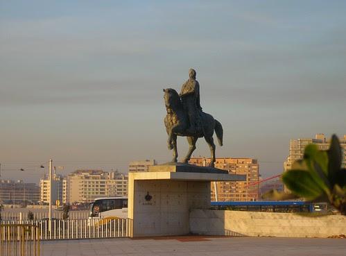 cavaleiro azul