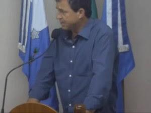 Vereador José Paulo, o Russo (PT do B), de Piraí, RJ (Foto: Reprodução/YouTube)