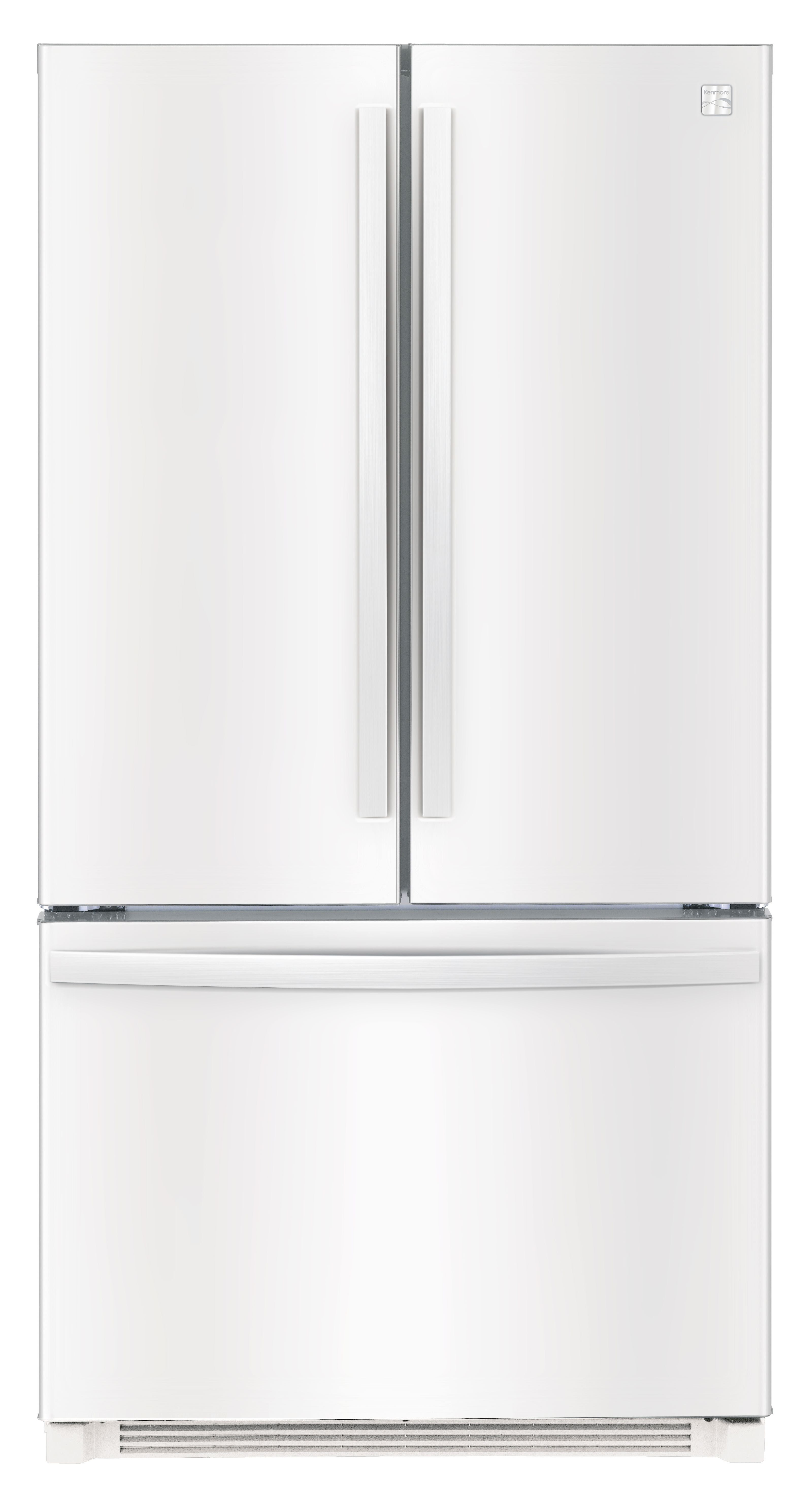 Kenmore 26 1 cu ft French Door Refrigerator – White