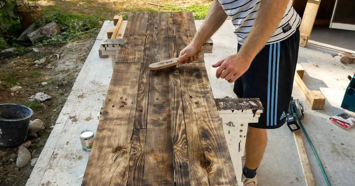 Neues Holz Alt Machen