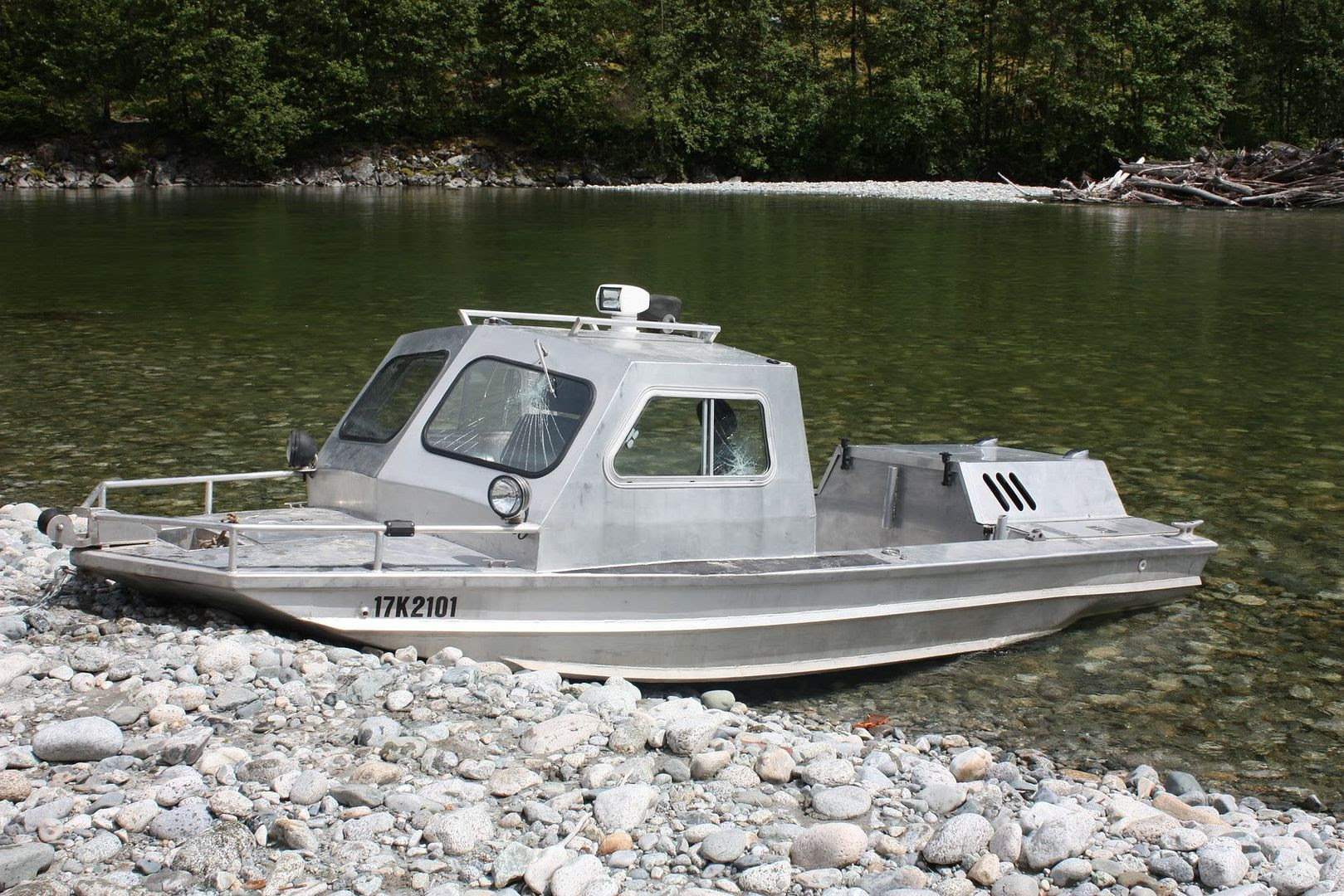 Beague: Blog Building aluminum boat transom